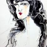 삐에로, 33.4x24.2, oil on canvas, 2012