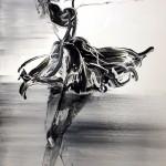 뛰었던 삐에로, 116.0x91, oil oncanvas, 2013