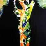 clown, 72.7x60.6, oil on canvas, 2011