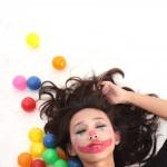 clown, digital printing, 2009