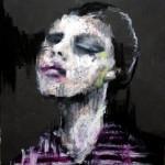 뛰어난 삐에로, 90.9x72.7, mixed media, 2015